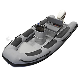 Defender RIB430 With Evinrude 40 Hp E-Tec 2-Stroke