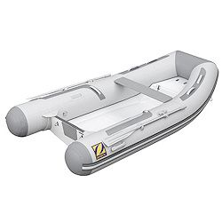 "Zodiac Rigid Hull (RIB) 11' 2"" Gray/ Lt. Gray Hypalon, 2017"
