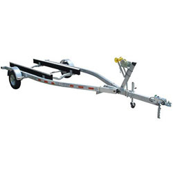 Venture Single-Axle Galvanized Bunk Trailer 2018