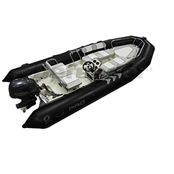 Zodiac Replacement Tubes for Pro550 / Pro12Man RIB - Black PVC