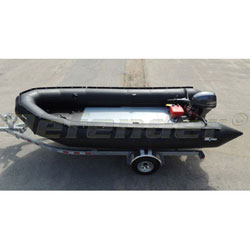 "Zodiac MilPro Heavy-Duty Series, 19' 2"", Black Inflatable Boat"