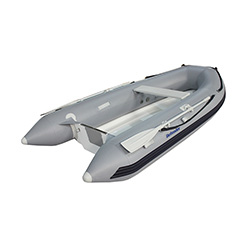 "Defender 300 Rigid Hull Inflatable (RIB) 9' 10"", Gray PVC, 2019"