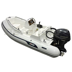 AB Nautilus 11 DLX Rigid Hull Inflatable (RIB) with Yamaha F40 EFI 4-Stroke
