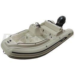 AB Nautilus 12 DLX Rigid Hull Inflatable (RIB) with Yamaha F40 EFI 4-Stroke