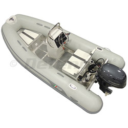 AB Alumina 12 ALX Rigid Hull Inflatable (RIB) with Yamaha F25 4-Stroke