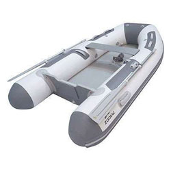 "Zodiac Air Floor 8' 10"" White/Gray PVC, 2020"