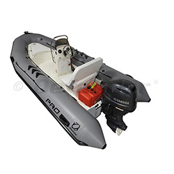 Zodiac Defender Pro Club 500 with Yamaha F50 EFI 4-Stroke