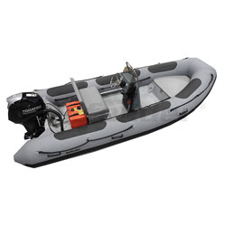 Defender RIB 460 Rigid Hull Inflatable (RIB) w/ Tohatsu MFS50