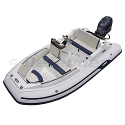 AB Nautilus 12 DLX Rigid Hull Inflatable (RIB) with Yamaha F50 EFI 4-Stroke