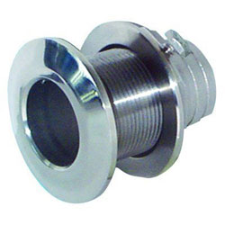 Groco HTH-Series Stainless Steel Mushroom Head Thru-Hull Fitting - 1-1/2 Inch