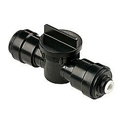 Sea Tech Metric Series Quick Connect In-Line Adapter / Shut-Off Valve