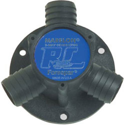 Forespar Y- Connector - Includes Mounting Flange