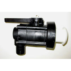 Forespar Marelon 93 Series Ball Valve / Mushroom Thru-Hull Fitting - 1-1/2
