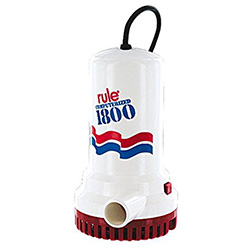 Rule 1800 Electronic Automatic Bilge Pump