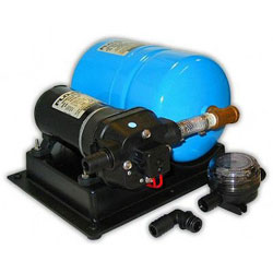 Flojet Marine Accumulator Pump and Accumulator Tank Kit