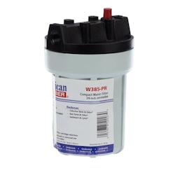 American Plumber W385-PR Slim Line Water Filter Housing
