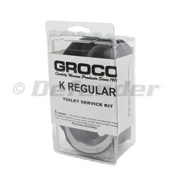 Groco Model K Marine Toilet Regular Service Kit