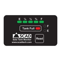 Scad Technologies Solo Tank Monitor With External Sensors