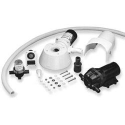 Jabsco Quiet Flush Electric Toilet Conversion Kit (37255-0092)