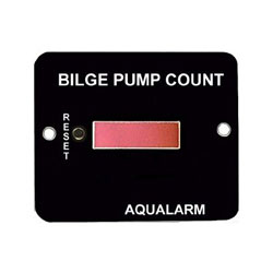 Aqualarm Bilge Pump Cycle Counter