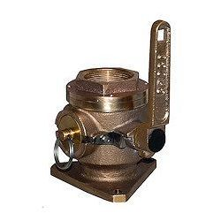 Groco SBV Series Full Flow Flanged Safety Seacock