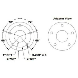 SCAD Technologies Adapter Plate