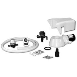 Jabsco Quiet Flush Electric Toilet Conversion Kit (37055-0092)