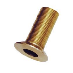 Groco FTH-Series Bronze  Flush Mount Thru-Hull Fitting - 3/4""