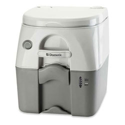 Dometic SaniPottie 975MSD Toilet with MSD Fittings