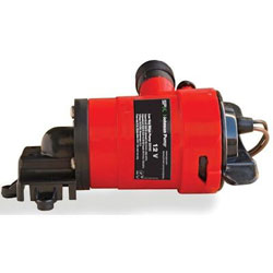 Johnson 750 GPH Low Boy Non-Automatic Bilge Pump