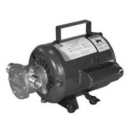 Jabsco Self-Priming ODP Impeller Pump - 110 Volt AC