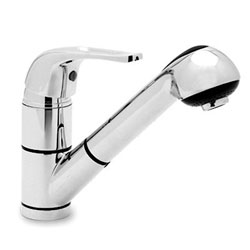 Ambassador Marine Stasis Small Pull-Out Galley Faucet