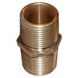 "Groco PN-Series Pipe Nipples - 1-1/4"" NPT"