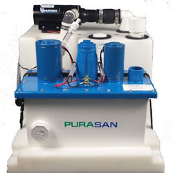Raritan Purasan EX Hold N Treat System - 24 Volt