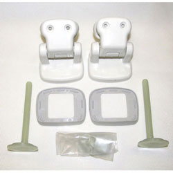 Jabsco Replacement Toilet Seat Hinge Set (58105-1000)