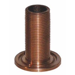 Groco TH-Series Bronze Mushroom Head Thru-Hull Fitting