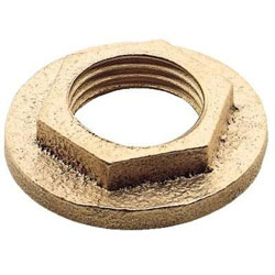 Apollo 65-Series Bronze Thru-Hull Flanged Retainer Nut