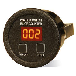 Water Witch BC100RDB Bilge Pump Cycle Counter
