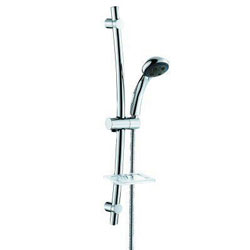 Scandvik Shower Rail with Soap Dish