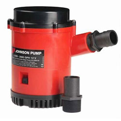 Johnson L2200 Heavy Duty Non-Automatic Bilge Pump