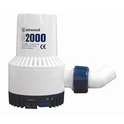Attwood HD2000 Heavy-Duty Non-Automatic Bilge Pump