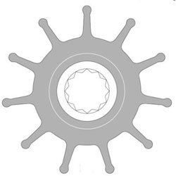 Johnson Replacement Impeller (09-819B-00)