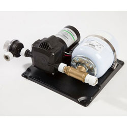 Whale Marine Accumulator Pump and Accumulator Tank Kit