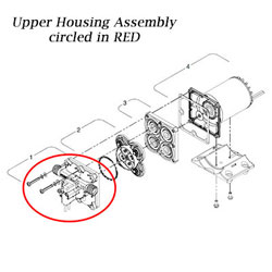 SHURflo Upper Housing Assembly (94-800-22 F/4128-110-X04)