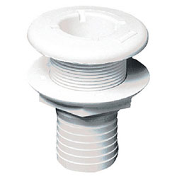 Forespar 253 Series Marelon Mushroom Head Thru-Hull Fitting - 1-1/2""