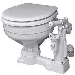 Raritan PH SuperFlush Manual Toilet with Slow Close Lid