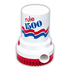 Rule 1500 Non-Automatic Bilge Pump