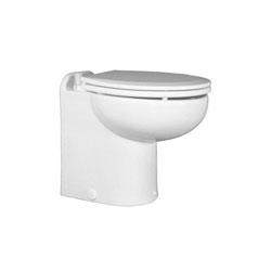 Raritan Marine Elegance Toilet w/ Vortex-Vac - Fresh - Straight Back Tall -24V