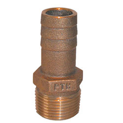Groco Bronze Pipe to Hose Adapter Fitting