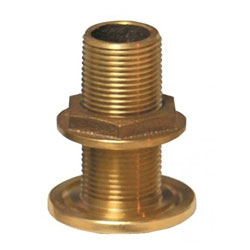 Groco Standard Bronze Thru Hull with Nut